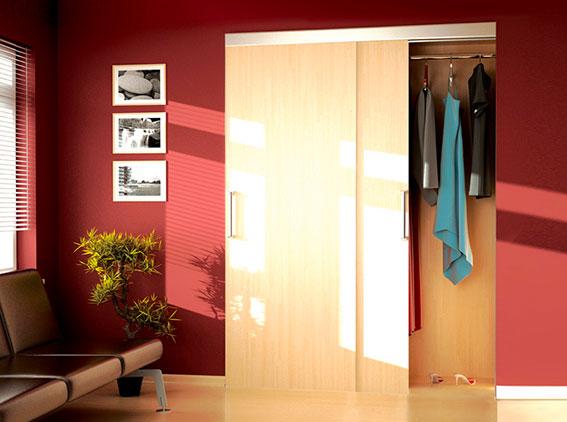 Systém pre posuvné dvere v skriniach HORUS